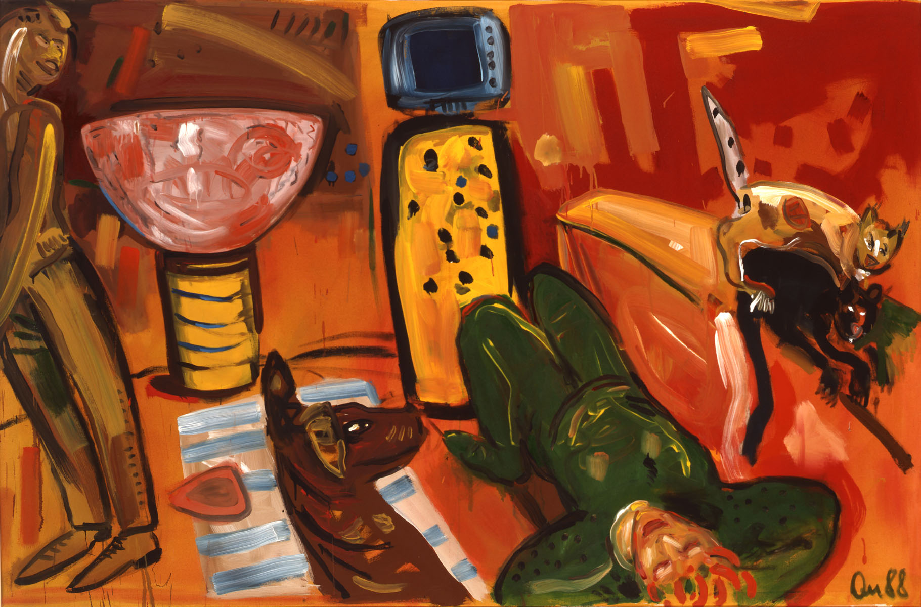 1988-2_the-evenings in-justine_1988_acryl-leinwand_108x168