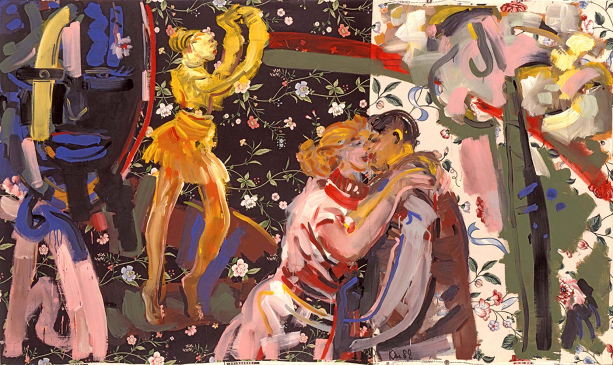 1988-37_nice-to meet-you_1988_acryl-stoff_133x223cm